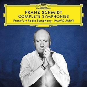 CD パーヴォ・ヤルヴィとネーメ・ヤルヴィのフランツ・シュミット:交響曲第1番