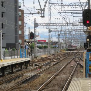 近鉄大阪線・五位堂駅にて(2019年10月20日撮影)