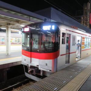 阪神尼崎駅にて(2020年6月23日撮影)夕ラッシュからの夜間撮影③