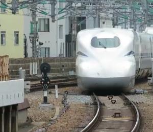 東海道新幹線・新大阪駅にて(2020年7月28日撮影)新型車両N700S