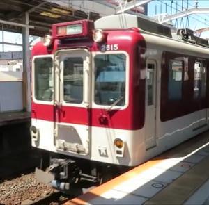 近鉄鶴橋駅にて(2021年7月21日撮影)シリーズ21や阪神1000系ラッピング車など