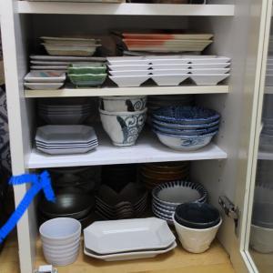 続〜食器棚に棚板を増やしてみた★我が家の収納お見せします