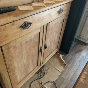 食器を上手く収納したくて収納棚を作ってみました