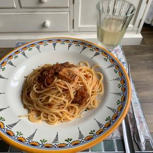 これがレトルト⁉️真鰯とトマトのペペロンチーノ絶望スパゲティ
