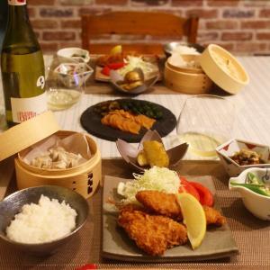 ある日の夕食〜ミックスフライ膳