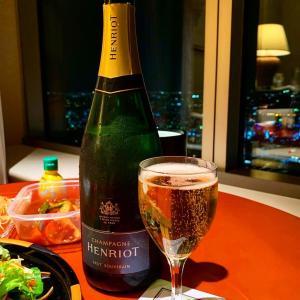 横浜ロイヤルパークホテル◼️サニタリールームとお部屋でディナー