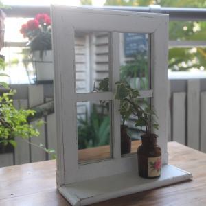 リメイク◼️窓枠型ミラーを作りました〜完成