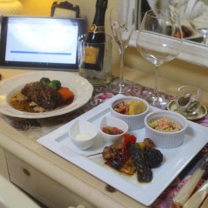 オンライン飲み会のためのお料理