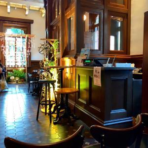 三菱一号美術館のcafe1894で至福のディナータイム