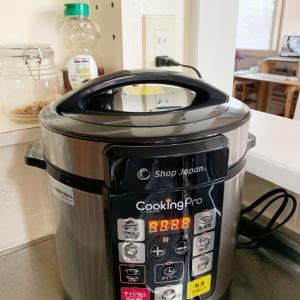 電気圧力鍋 CookingProを使ってみる