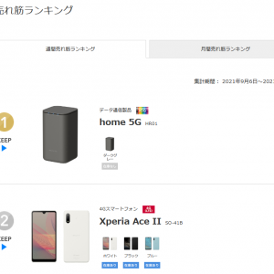 ドコモhome5G 人気過ぎてオンラインではスマホより売れるデバイスに