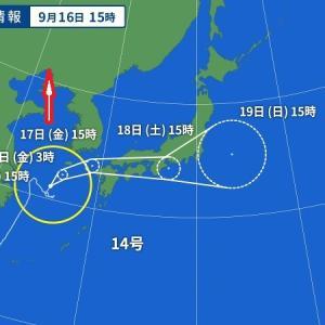 気まぐれな台風には負けない、