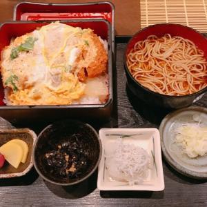 【大森駅】カツ丼とかけそば【走り長屋】