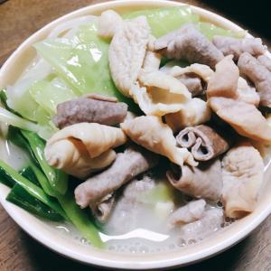 【男の荒削り料理】モツ鍋