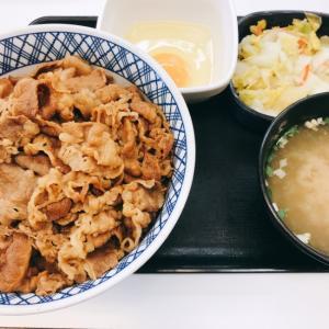 【川崎追分店】牛丼セット【吉野家】