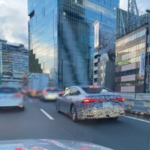 【街で見掛けた】新型トヨタMIRAI【2020/09/04】