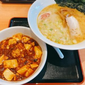 【炒爆中華食堂真心】とんこつラーメンと麻婆豆腐【大宮大成店】