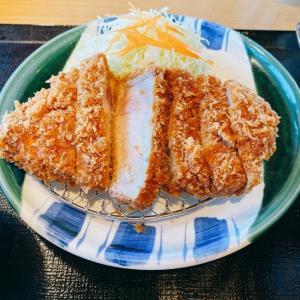【愛知県小牧市】超ジャンボカツ定食【かつ雅】