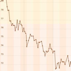【男の減量】72.3→71.7kg【2020/11/20】