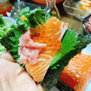 【男の荒削り料理】手巻き寿司