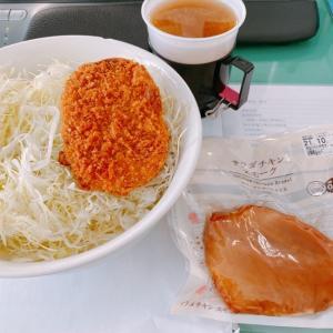 【男の糖質制限】キャベツ・コロッケ・サラダチキン