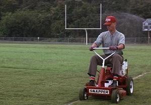 【街で見掛けた】芝刈り機