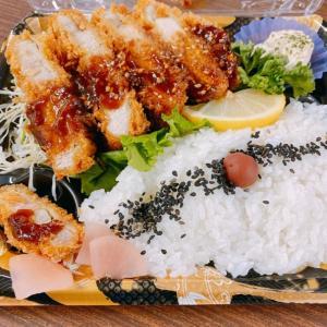 【男の昼飯】四元豚トンカツ弁当【サミット】