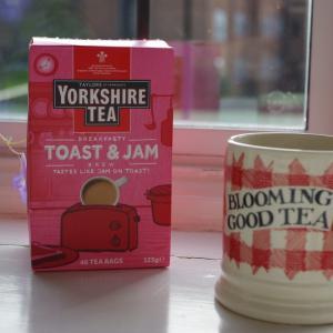 「トースト&いちごジャム風味」の紅茶!