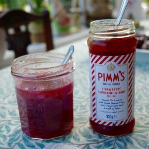 夏の飲み物ピムズのジャムと、わが家の朝の食卓を彩っているものたち