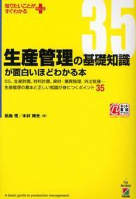 1886 『生産管理の基礎知識が面白いほどわかる本』