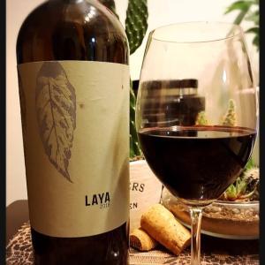 スペインの安旨ワイン ★ LAYA 2018 '