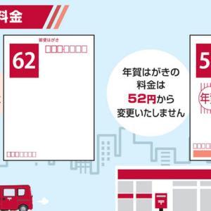 2018年(戌年)年賀ハガキの切手額面は52円ということを知ってましたか?