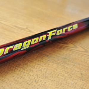 シマノDragon Force 11mを手にして