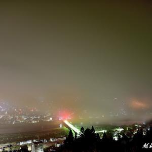 霧にむせぶ夜