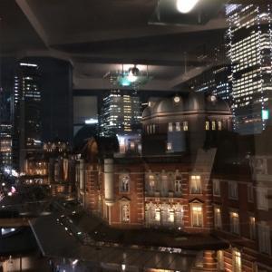 東京駅のイルミネーション