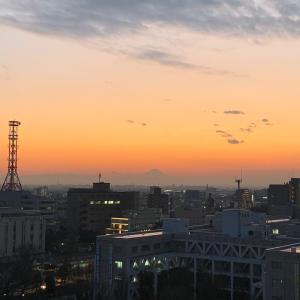 夕焼けのおすそ分け(*´ー`*)