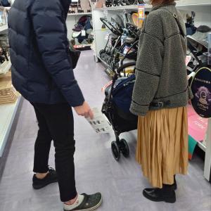 12月13日日曜日は、初めてのbaby用品買い出し。:+((*´艸`))+:。