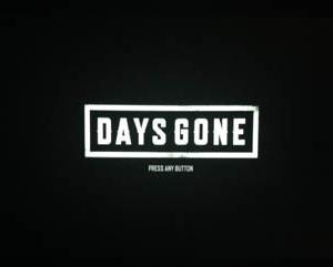 DaysGone デイズゴーン プレイ01