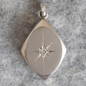 服部時計店製のプラチナ製ダイヤモンドの無双方針 プラチナ刻印 [再掲載]