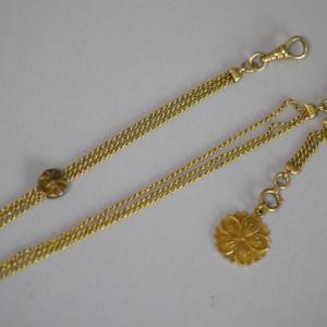 戦前の宝飾品の技巧についてその2 『いぶし金』
