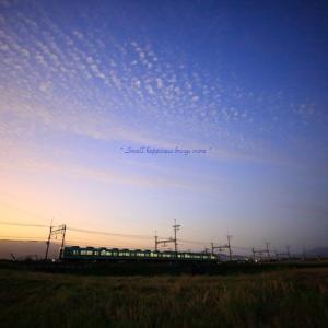 夕空 × 電車 vol.2