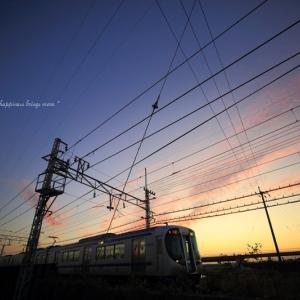 夕空 × 電車 vol.3