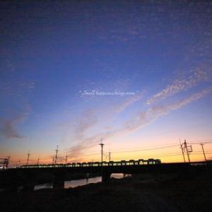 夕空 × 電車 vol.4