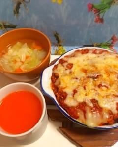 今日の夕飯。