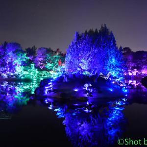栗林公園『光の祭』~その7~
