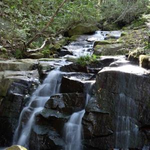 白簾の滝・狐渡の滝~その2~