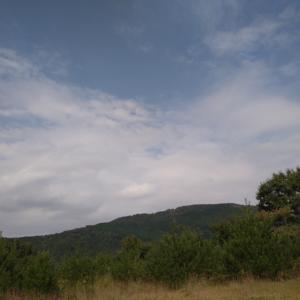 山でランチ