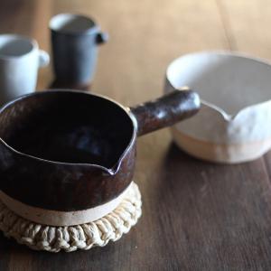 耐熱陶器 ミルク鍋