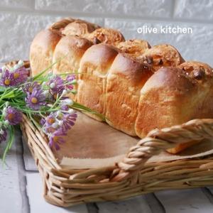 シュガーバタートップのミルク食パン♡