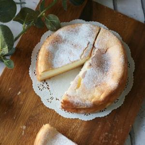 ホワイトスフレチーズケーキ♡